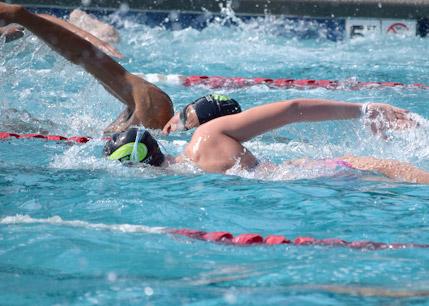 Teildisziplin Schwimmen Bundesvierkampf 2020